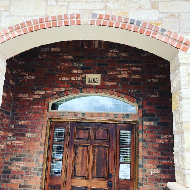 new office door